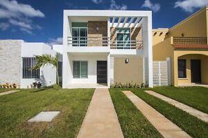 Casa en venta en Gran Santa Fe Norte en Mérida, Yucatán con 2 recamaras.