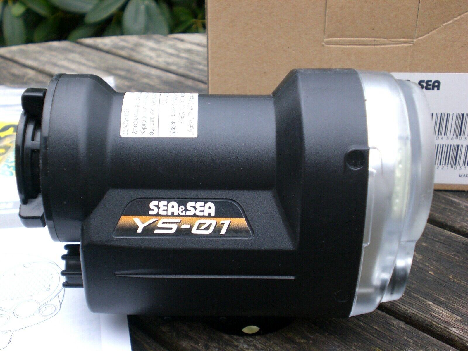Sea&Sea Blitz YS 01 für Digitalkameras--Strobe
