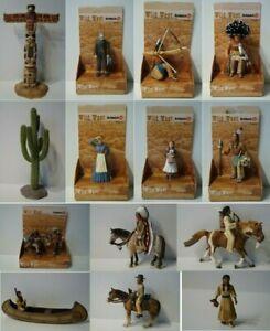 Schleich-Cowboy-und-Sioux-Indianer-Wild-West-Figuren-zur-Auswahl-auch-NEU-OVP