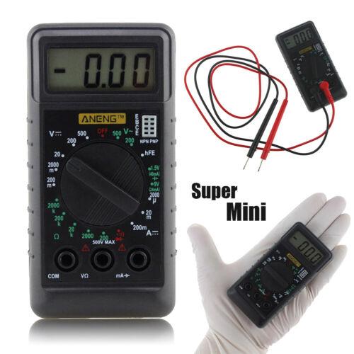 Mini Pocket DMM Digital LCD Multi Meter OHM Test Voltmeter Ammeter Meter Buzzer