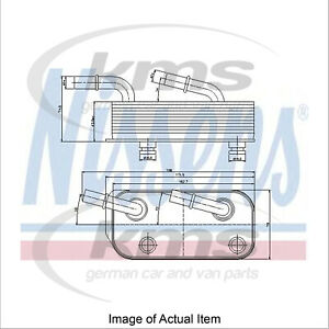 Fits Jaguar XJ 3.0 D Genuine OE Quality Nissens Gearbox Oil Cooler