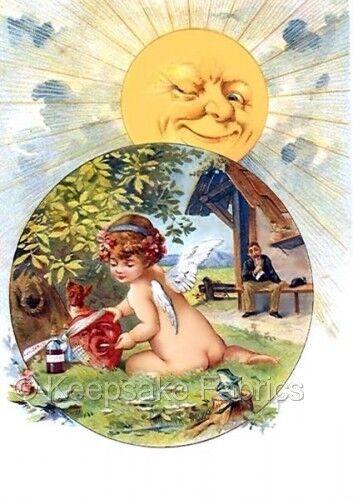Fairy Treats Heart Sun Smiles Quilt Block Multi Sizes FrEE ShiPPinG WoRld WiDE