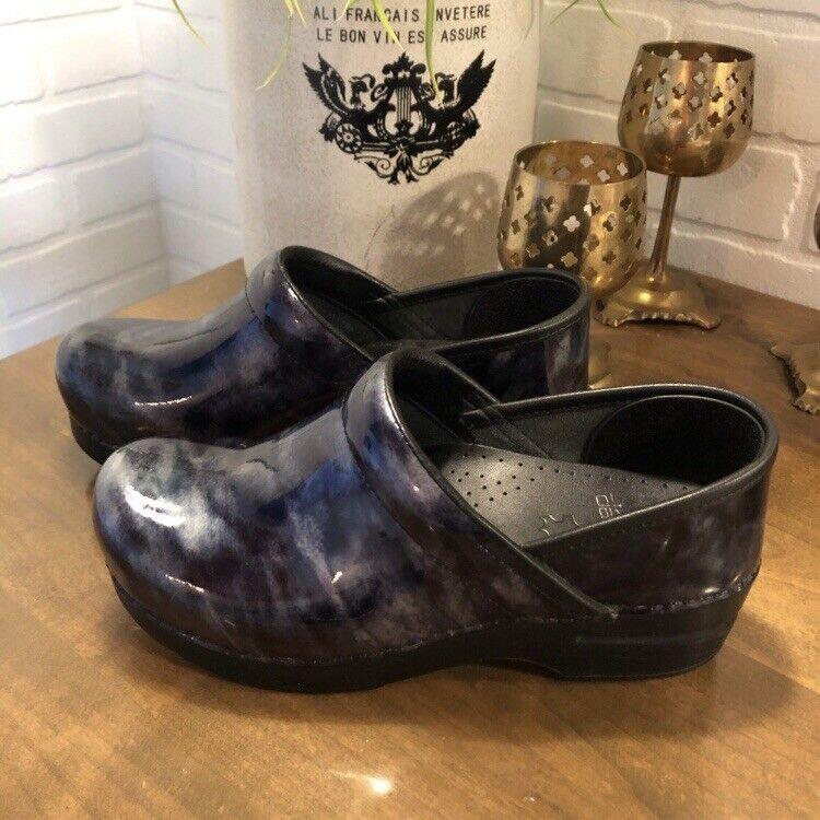acquista online Dansko Marbled Patent Clog  Nursing Comfort Shoe Shoe Shoe  prezzo all'ingrosso