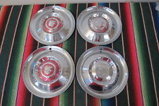 "15"" MERCURY HUBCAPS MERCMAN leadsled Sled Original 1950 1952 1953 1955 1956 1957"