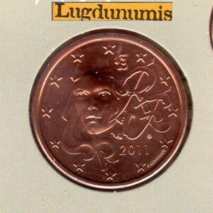 France 2011 5 centimes BU FDC provenant coffret 40000 exemplaires