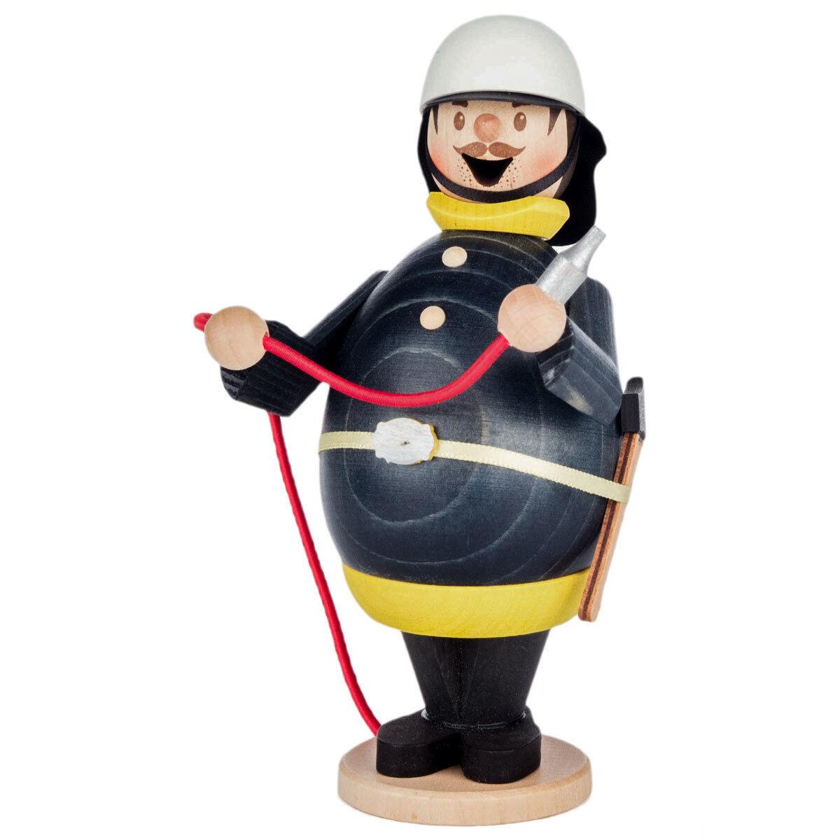 Fireman Wooden German German German Incense Burner Smoker -  Fire Fighter - Made in Germany fe5fc6