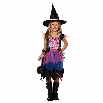 FIREWORK WITCH DRESS UP OUTFIT large age 10-12 childs girls fancy dress costume