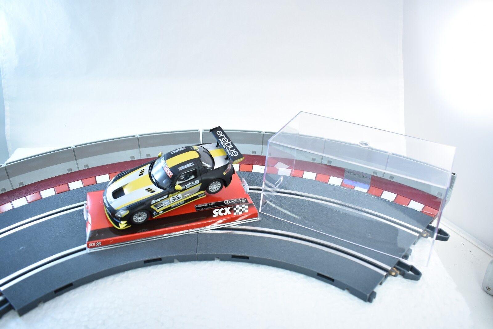 SCX ANALOG 1 32 SLOT CAR A10154X3U0 2007 MERCEDES SLS GT3 EREBUS
