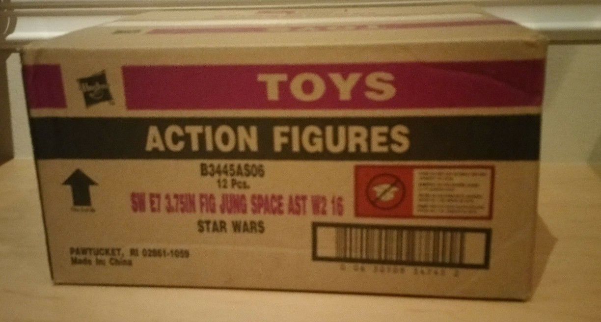 Hasbro Star Wars Ep VII Force Awakens Jungle & Space Wave 5 Factory Sealed Case