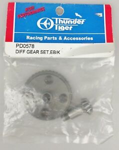 Thunder Tiger Pd0578 Engrenage Diff Eb / k 4719523736025