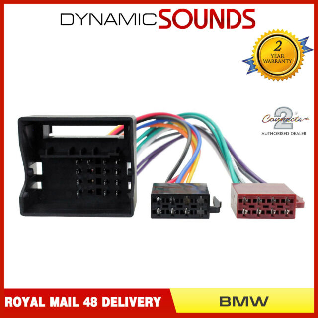 bmw 3 series 2001 - 2002 e46 iso radio quadlock wiring harness adaptor for  sale online   ebay  ebay