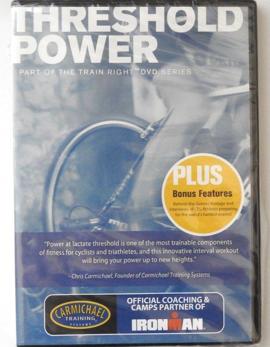 Carmichael CTS Training Systems Threshold Power DVD Train Right ...