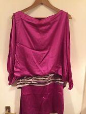 BN Antik Batik Mili Mini Berry Dress, Size S/38