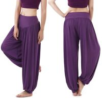 Women's Student Harem Yoga Genie Trouser Belly Dance Pant Pantaloons Aladdin