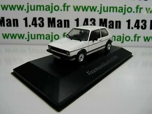 VW4F-voiture-1-43-IXO-Volkswagen-collection-GOLF-GTi-I-1976-blanche