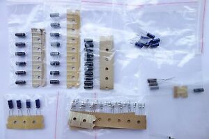 Kenwood TS-140S HF Transceiver Capacitor Replacement Kit Capacitors