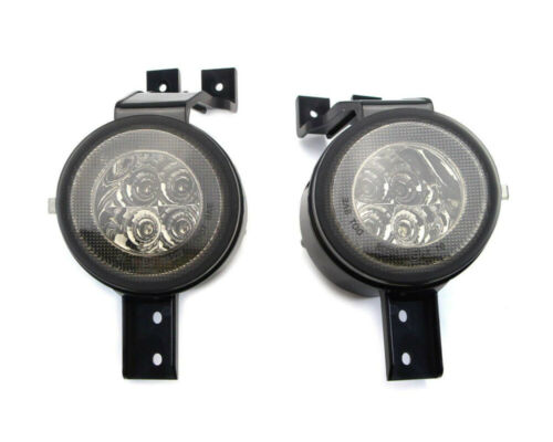 LED Halo DRL Turn Signal Light Assy for 02-06 Mini Cooper R50 R53 R52 Smoke Lens
