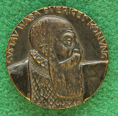 1923 400th Anniversary liberation of Stockholm Bronze medallion SNo35129