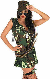LADIES-ARMY-GIRL-WAR-OUTFIT-WOMENS-CAMO-COMBAT-FANCY-DRESS-COSTUME-HAT-HEN-NIGHT