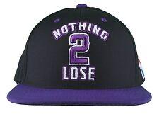DGK Dirty Ghetto Kids Black Purple Nothing To 2 Lose Snapback Baseball Hat NWT