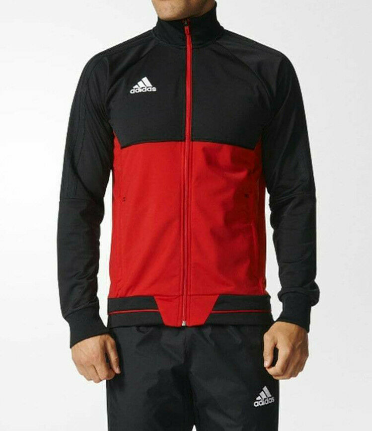 adidas Tiro 17 Trainingsjacke (BQ2598) in Schwarz