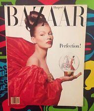 Bazaar MAGAZINE December Kate Moss Vogue Allure Glamour Model Seventeen Elle W
