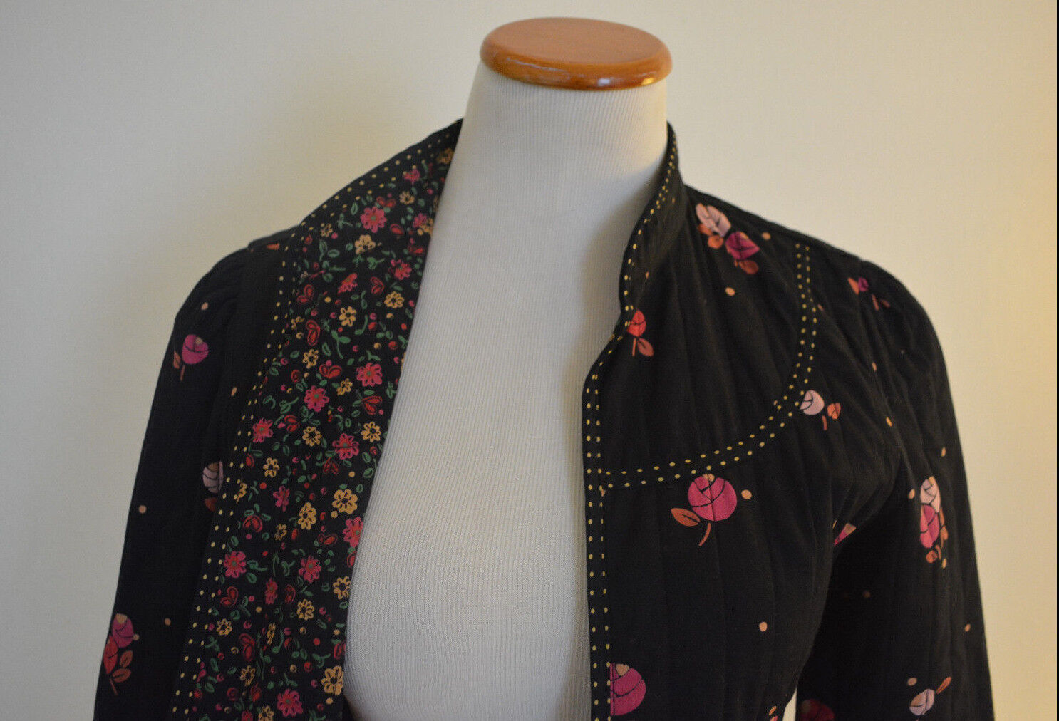 """4 Anthropologie Rose """"Calico Quilted Jacket""""  - image 6"""