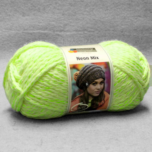 "Schachenmayr /""Neon Mix/"" 1 ovillos = 1 Design color 122 150g 3.33 €//100g"