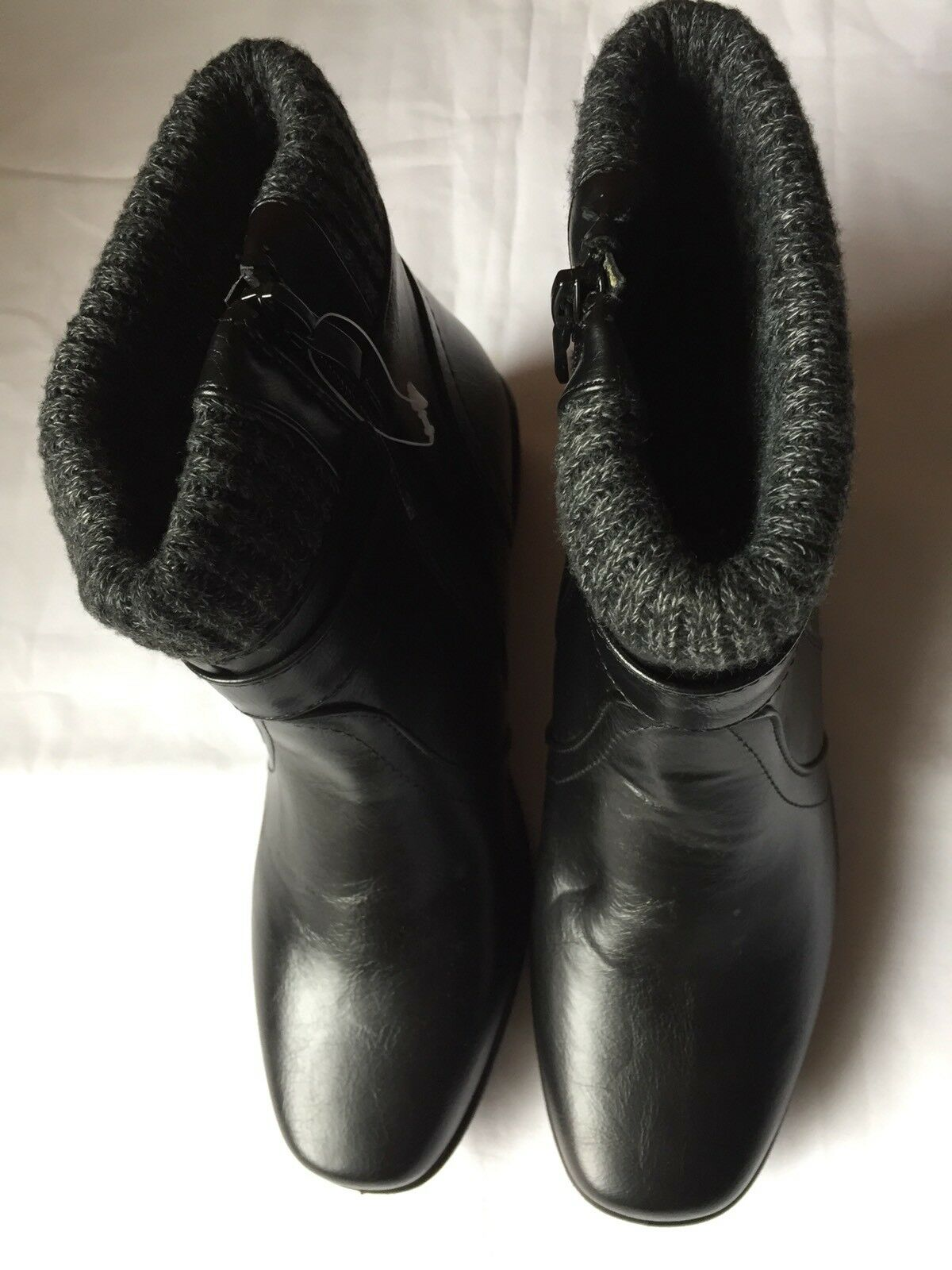Size 4 Winter Womens Girls Cushion-Walk Black Winter 4 Boots 6a87c5