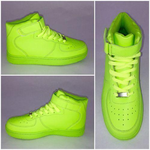 *BIGcut* NEW Style Highcut KLETT Sportschuhe Sneakers GRÜN
