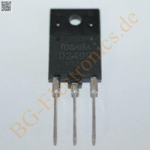 2 x 2SD2499 SILICON NPN TRIPLE DIFFUSED MESA TYPE TRANSI Toshiba 2-16E3A 2pcs