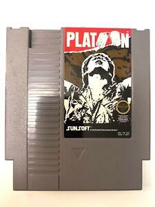 Platoon-Original-Nintendo-NES-Game-Cartridge-Cleaned-amp-Tested-Authentic