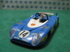 Vintage-MATRA-SIMCA-MS-670-Le-Mans-1-43-Solido-N-14-condicion-de-menta
