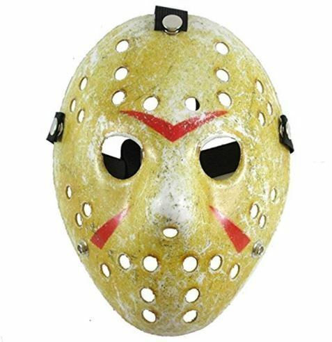 Halloween Party Mask Friday The 13th Jason Voorhees Costume Horror Movie