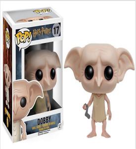 Harry Potter Dobby POP PVC Toy Hand Office Ornaments