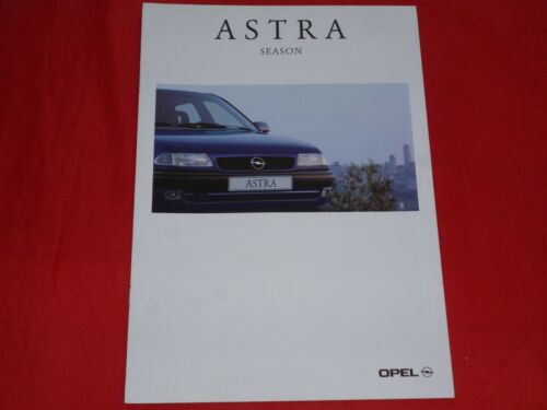 "OPEL Astra F /""Season/"" Sondermodell Prospekt von 1995"