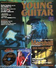 Young Guitar Magazine November 2005 Japan Jimi Hendrix Bon Jovi TNT