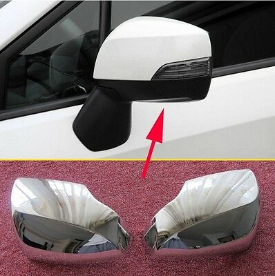 For Subaru XV 2012-2014 ABS Chrome Side Mirror Cover Trim New