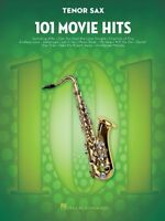 101 Movie Hits 101 Movie Hits For Tenor Sax Instrumental Folio Book 000158090
