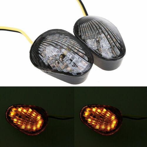 Smoke LED Turn Signal Light Indicator Lamp fit for Yamaha YZF R1 R6 R6S 2002-14