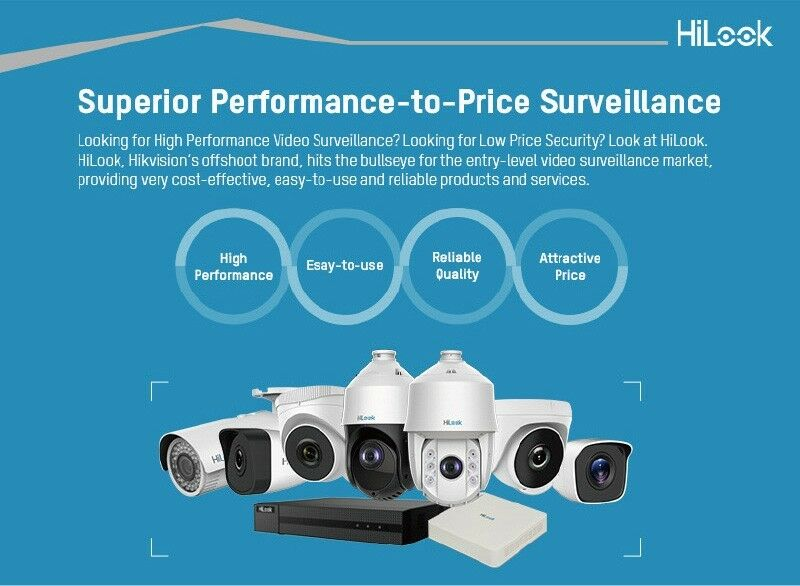 HiLook by Hikvision 16ch Turbo HD DVR up to 3MP recording | Port