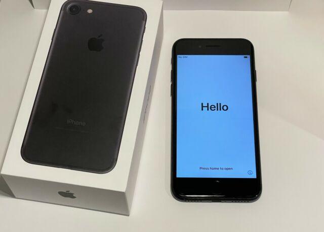 Apple iPhone 7 - 128GB - Jet Black (Unlocked) A1660 (CDMA + GSM)