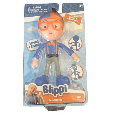 Zag Toys blippi Bendables Figure 2020 recueillir les 4 3 ANS