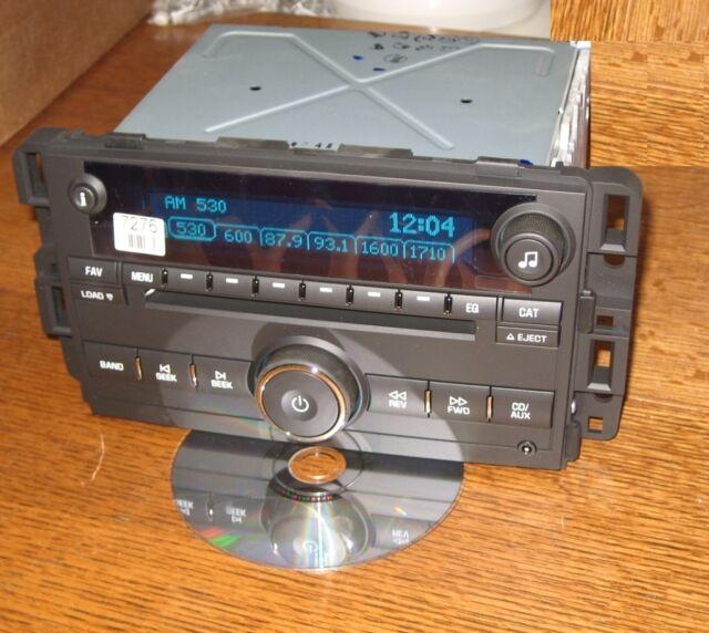 Unlocked Chevy Impala 6 Cd Changer Radio 35 Auxipod Mp3 Input Ltz Rhebay: 2005 Impala Radio Aux Input At Gmaili.net