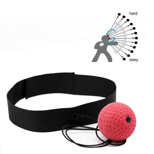 Boxing Punch Exercise Fight Ball With Head Band For Reflex Speed Training 2018