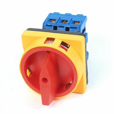 AUS Position 3 Phasen Drehen Kolben Umstellung Schalter Ui 600V mit 40A EIN