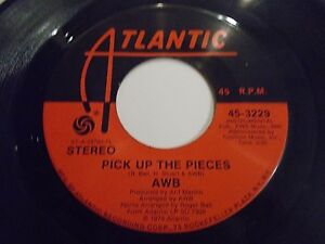 Average-White-Band-Pick-Up-The-Pieces-Work-To-Do-45-1974-Atlantic-Vinyl-Record