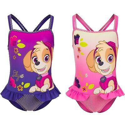 Girls Paw Patrol Character Swimsuit Official Merchandise Geschikt Voor Mannen En Vrouwen Van Alle Leeftijden In Alle Seizoenen