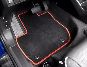 Image Is Loading GENUINE OEM SPORT RED FLOOR MAT CARPET FOR