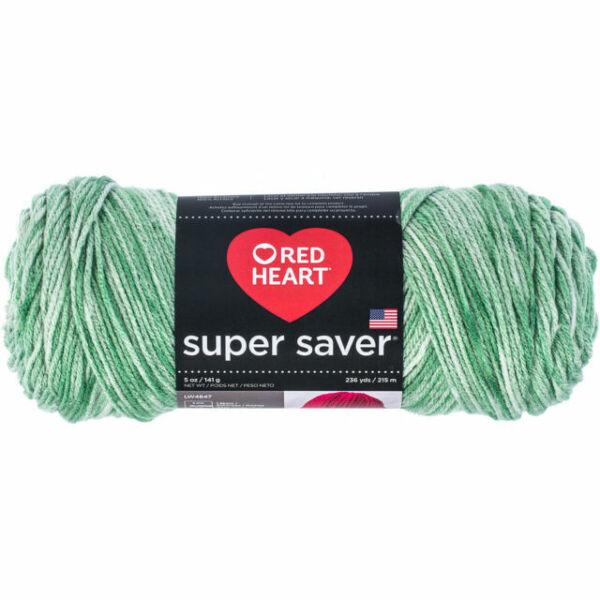 3Pk Coats Yarn E300-3978 Red Heart Super Saver Yarn-Peridot